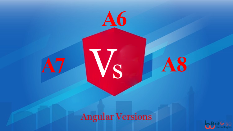 Comparison of Angular 6 , 7 & 8