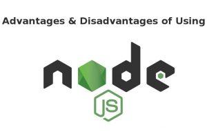advantages of node js